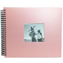 ALBUM SCRAPBOOK 33x30 ROSA CLARO