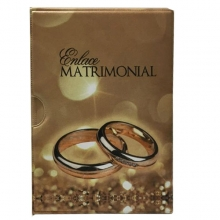 LUVA 15X21 PARA 60 FOTOS ( ENLACE MATRIMONIAL ) MARROM