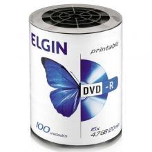 DVD-R ELGIN PRINTABLE C/100 UNIDADES
