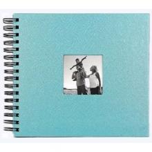 ALBUM SCRAPBOOK 33x30 AZUL CLARO