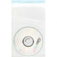 EMBALAGEM PARA CD PLÁSTICO COM 100 UNIDADES